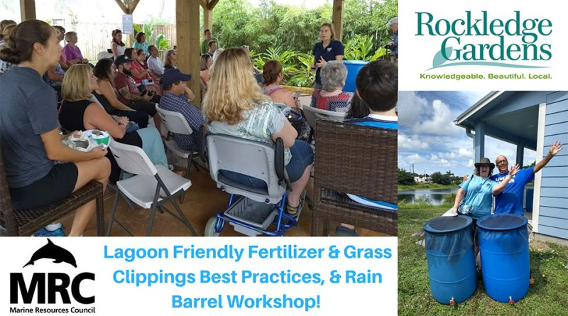 Lagoon-Friendly Lawn Care and Rain Barrel Workshop