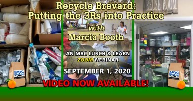 September Lunch & Learn Webinar: Recycle Brevard