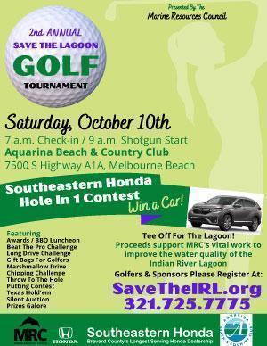 Sponsor MRC's October 10 Golf Tournament