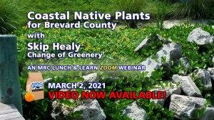 Coastal Native Plants Webinar