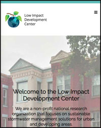 Low Impact Development Center Website