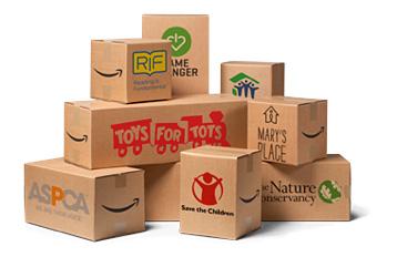amazon smile charity boxes