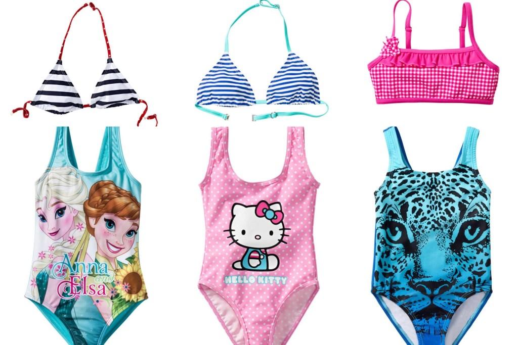 De leukste badpakken en bikini's voor jouw dochter