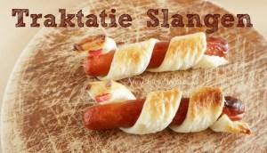 blogfeestje slangen traktatie