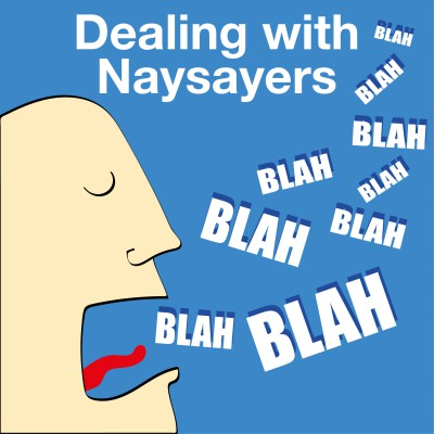 Dealing with naysayers and negative people when you are working to save your marriage.