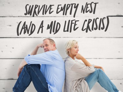 Survive the empty nest and a midlife crisis -- a thriving marriage.