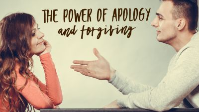 The power of apology and forgiving to transform your marriage.
