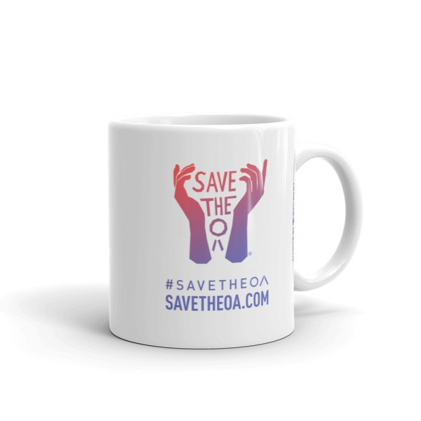 OA & Hap - Mug - #SaveTheOA