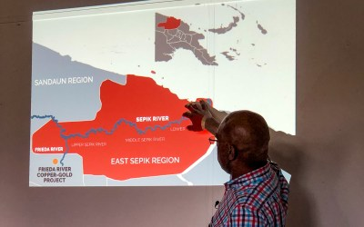 Giant mineral mine proposed in pristine Papua New Guinean rainforest