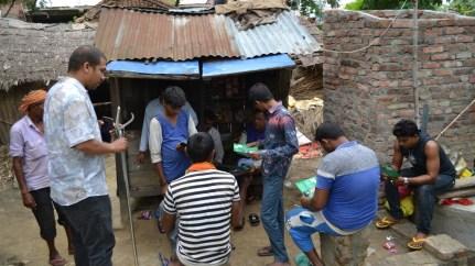 Follow up of the communities in Lakshminagar, Dhakdhai, Rohini Gaupalika, few days after workshop