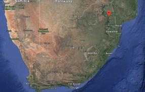 Hoedspruit Location map