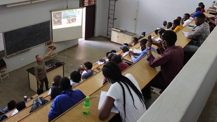 Snake awareness and first aid in snakebite lecture at UNZA