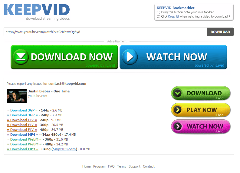 Image result for keepvid