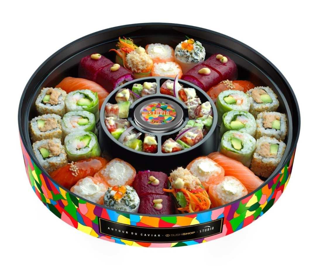 Test Kitchen : on a goûté la Box Caviar signée Sushi Shop