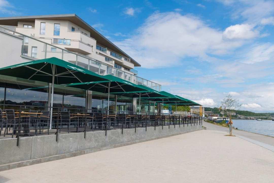 Brasserie du Quai 3 terrasses ensoleillées à Namur