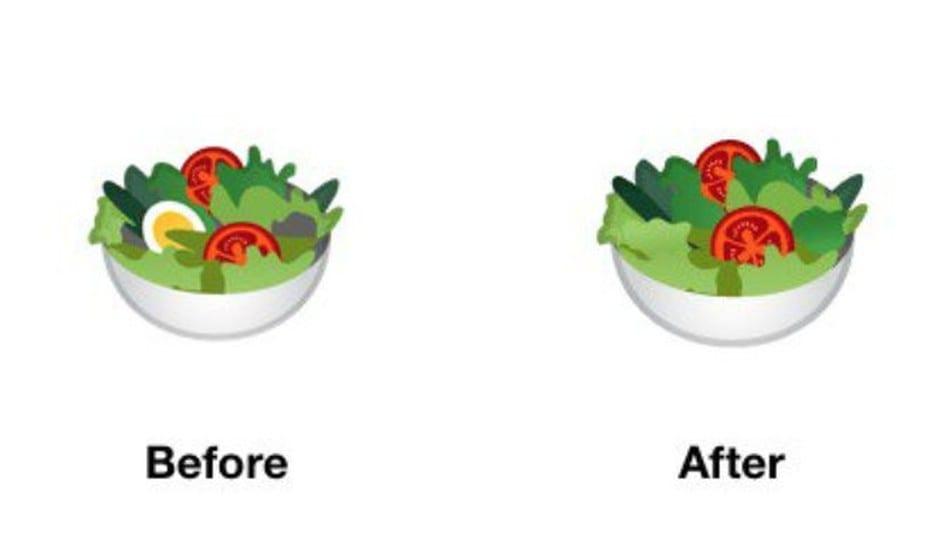 Quand les emojis food créent la polémique