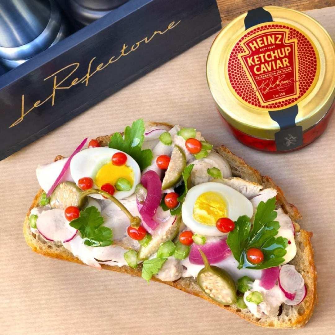 Heinz fête ses 150 ans avec du caviar de ketchup