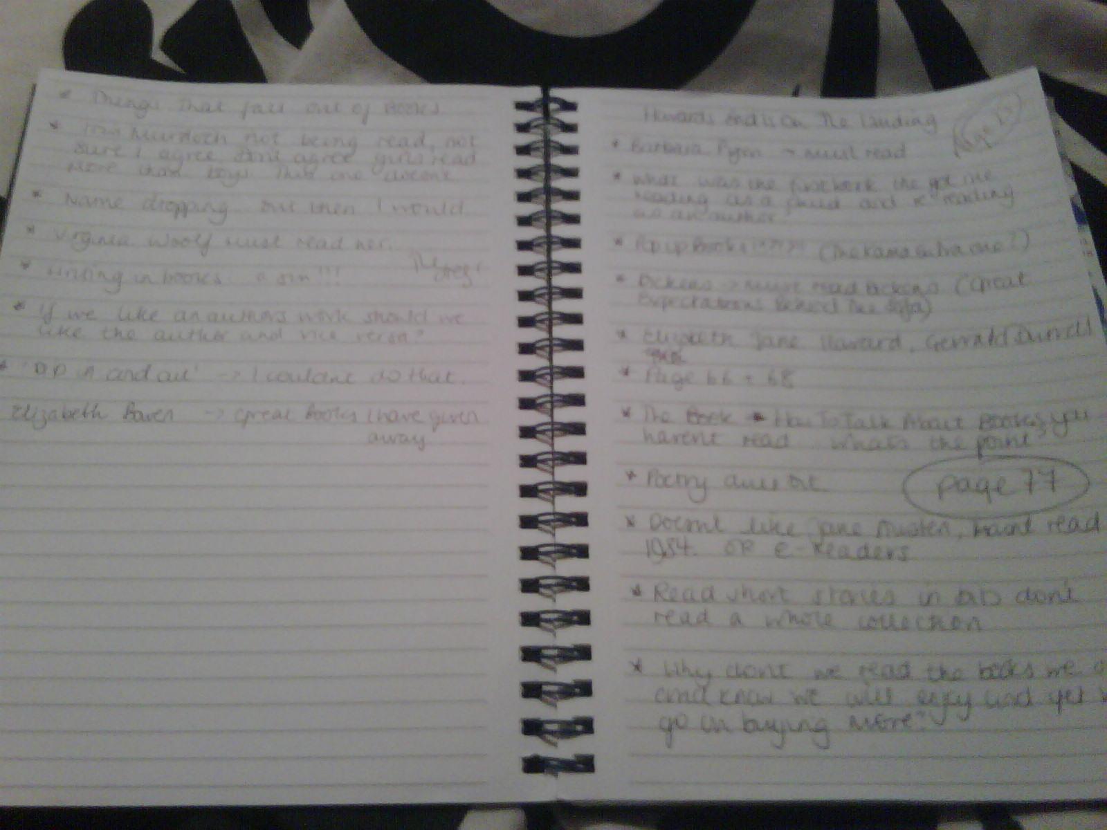 Notes on HEiotL