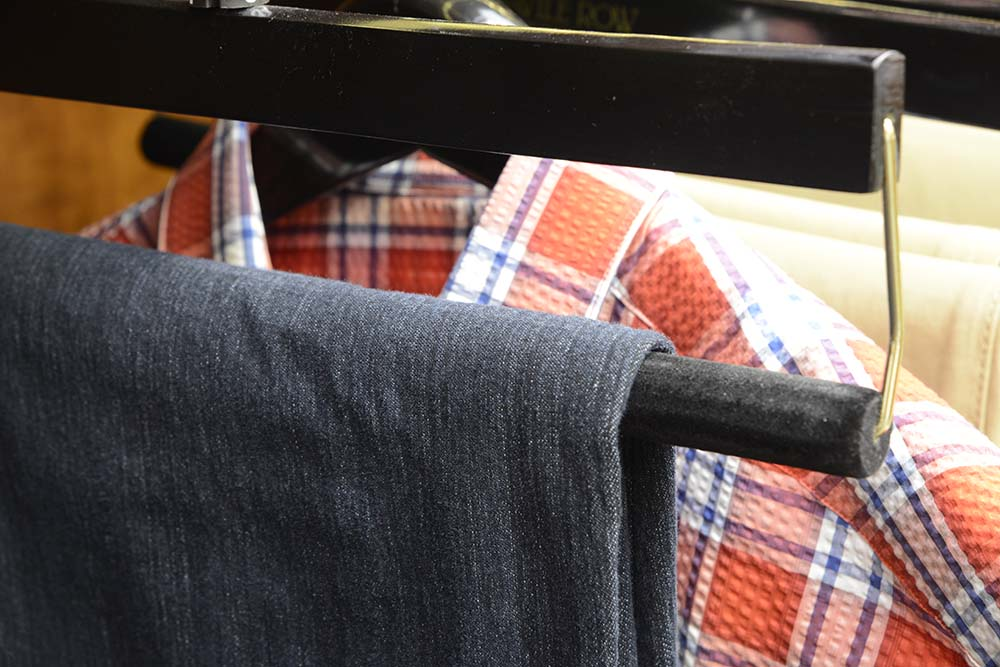 Men's business casual denim jeans