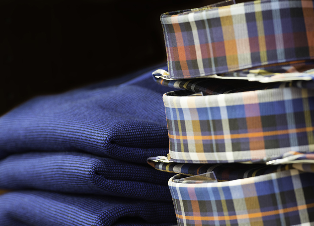 Men's business casual shirts and sweaters