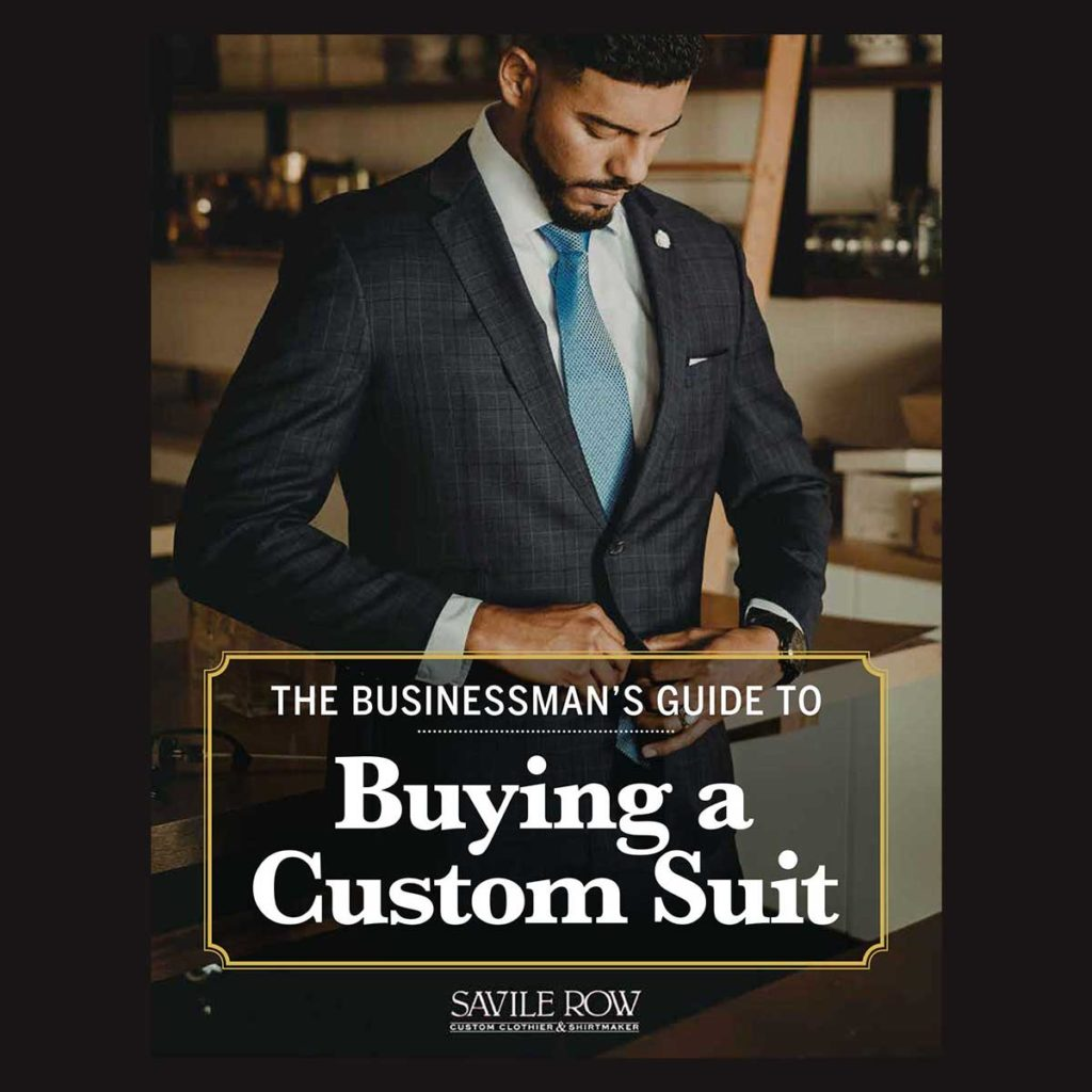 FREE eBook: Businessman's Guide to Custom Suits