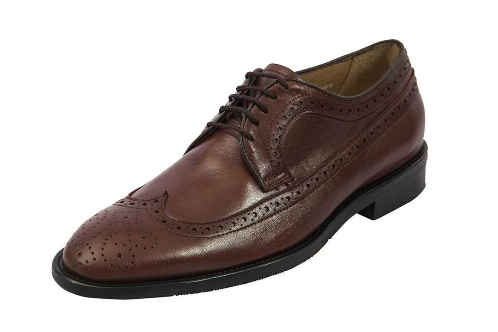 Savile Row Men's Custom Shoes by Avriel - 48 Collection Brown Lace H48 8A