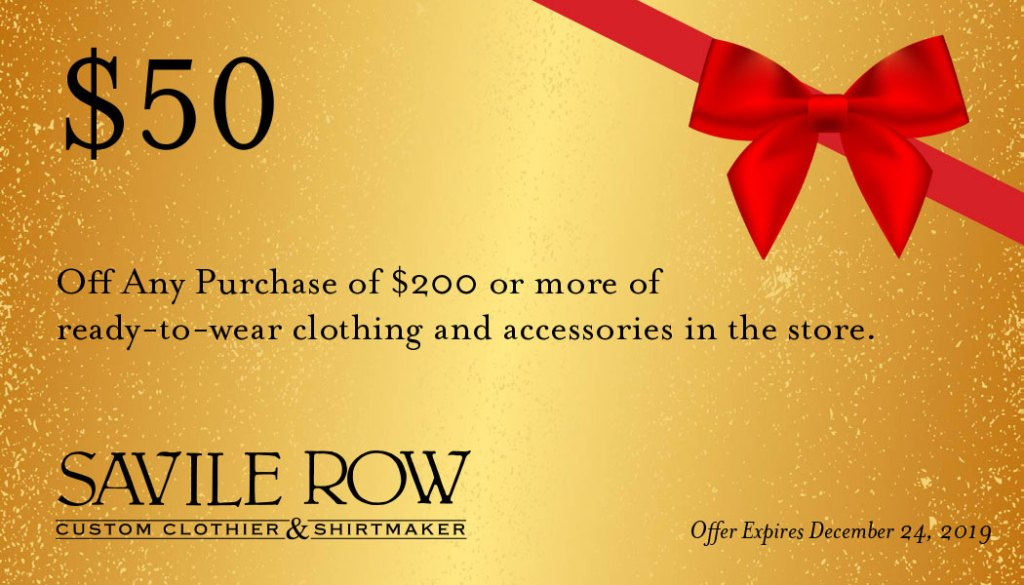 Get $50 off a store full of great holiday gift ideas.