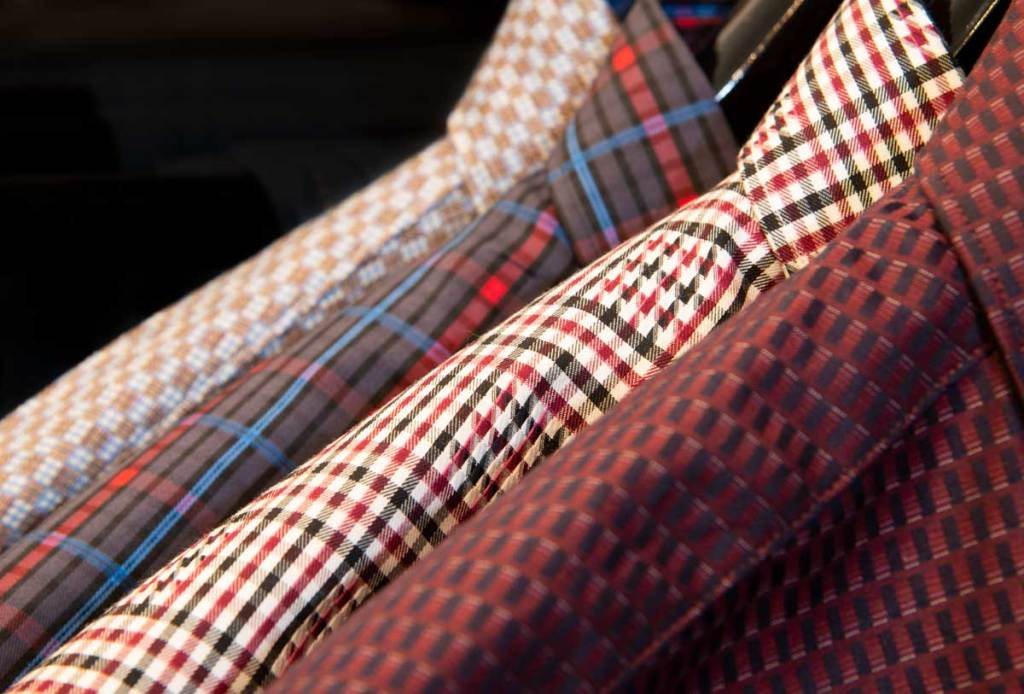 We are reducing all in-stock ready to wear clothing 50% to 75%. This includes sport shirts, knitwear, trousers, sport coats and shoes.