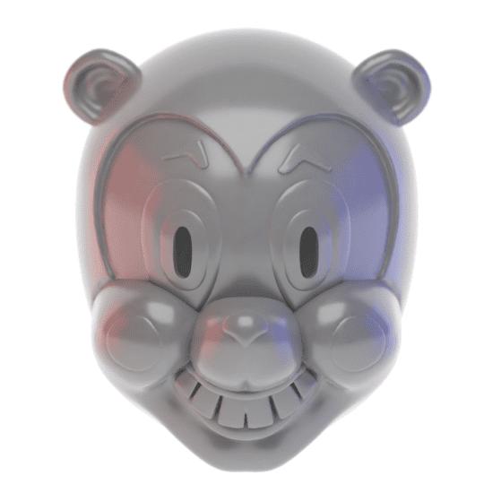 Render of the Hazel mask model