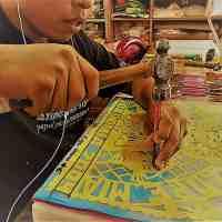Elaboración del papel picado. Arte y tradición que caracteriza