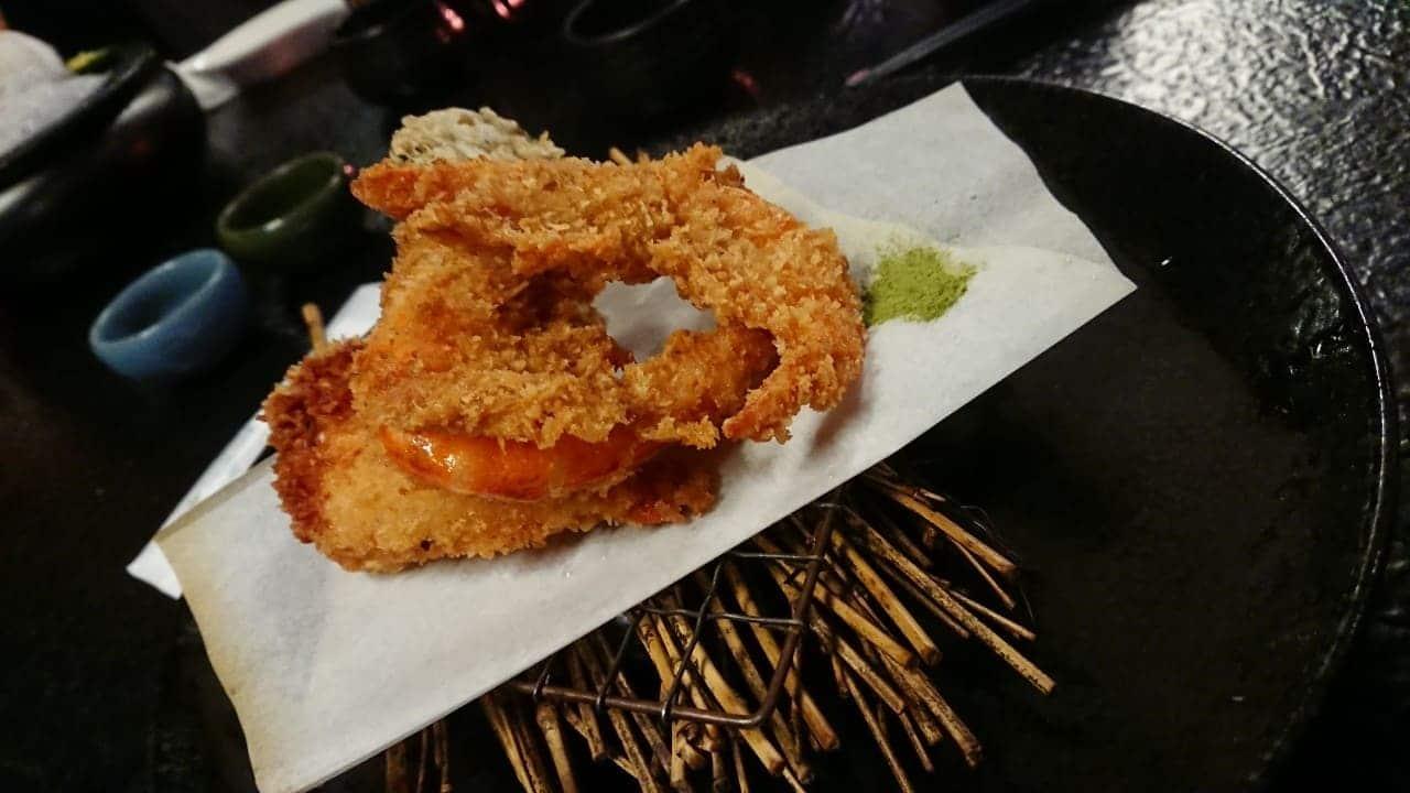 ikki藝奇新日本料理-黃金軟殼蝦