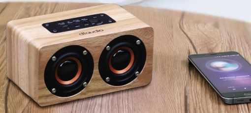 極致美-聆翔木質藍芽喇叭-10w猛烈輸出 bluetooth-headphone-wireless-earphone