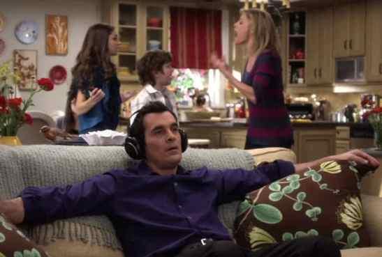 摩登家庭Phil Dunphy-抗噪藍芽耳機