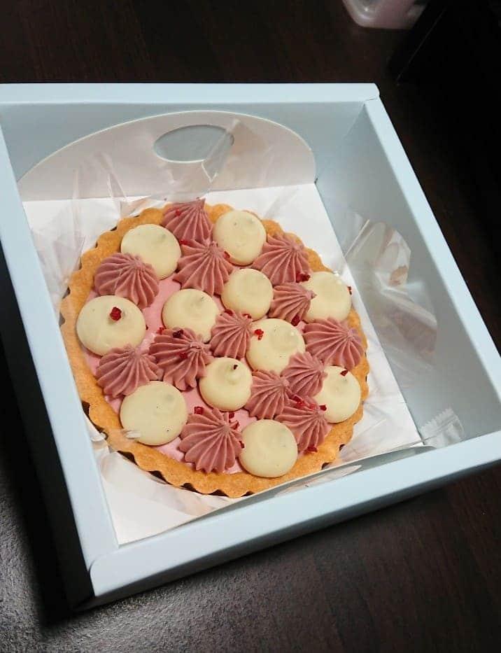 黑手甜點【莓果生乳酪塔】