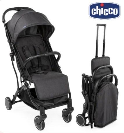 嬰兒車 義大利chicco Trolleyme城市旅人秒收手推車