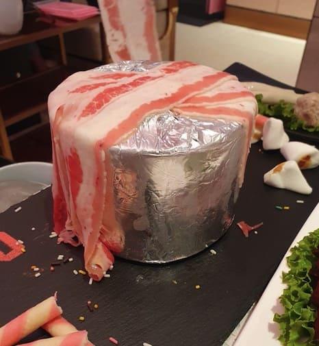 美國特選雪花牛肉肉蛋糕(期間限定版)