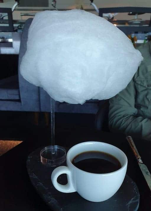 棉花糖+咖啡