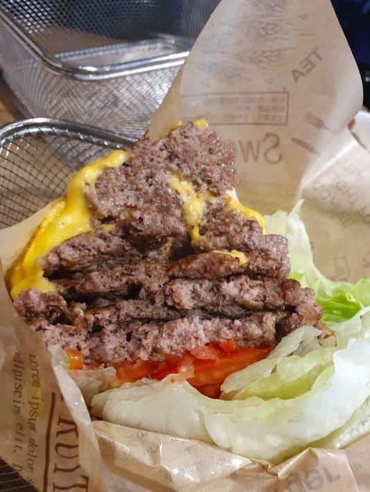 burger ray 爆肉堡