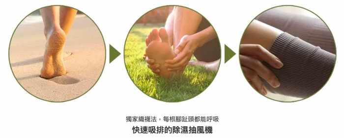 aPure獨家織襪法,每根腳趾頭都能呼吸