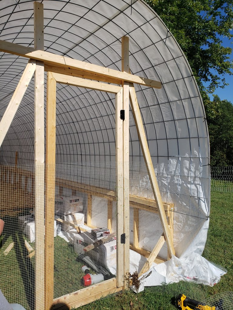 My chicken coop almost complete
