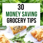 An average family can spend over $800 a month on food. Learn how to save money on groceries with these 30 money saving frugal tips.