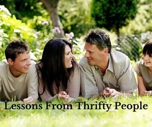 23 Lessons From Thrifty People