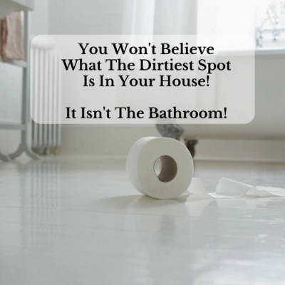 You Won't Believe What The Dirtiest Spot Is In Your House!