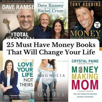 25 Must Have Money Books That Will Change Your Life