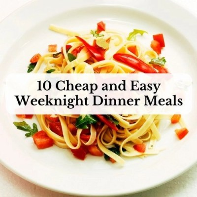 cheap and easy meal ideas