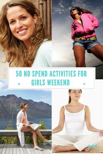 no spend fun activities for girls weekend