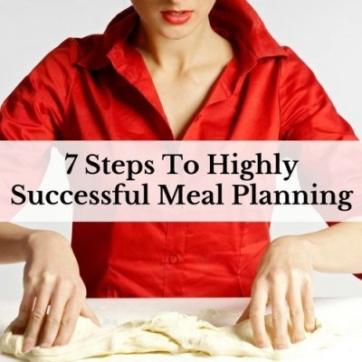 Meal planning is amazing. It takes the question out of what's for dinner. Learn the 7 steps to highly successful money saving meal planning.