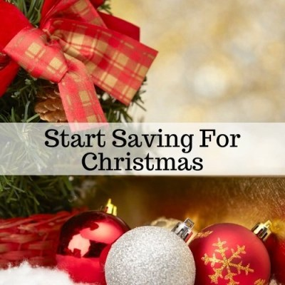Start Saving For Christmas
