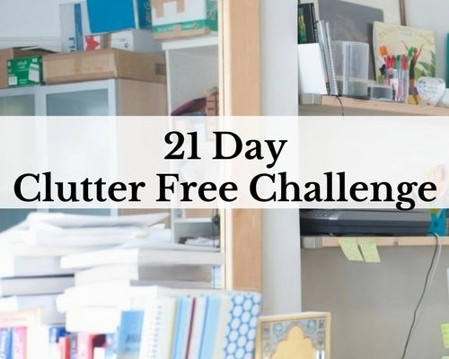21 Day Clutter Free Challenge