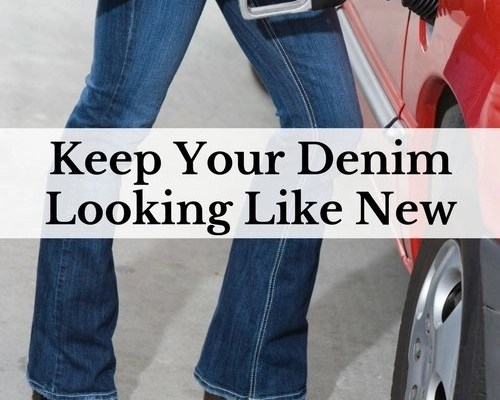 Keep Your Denim Looking Like New
